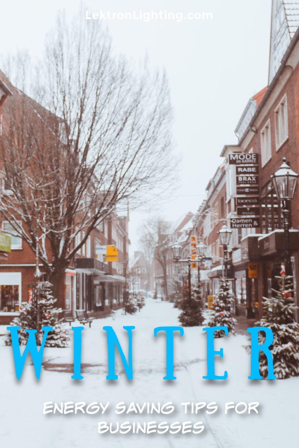 Winter energy saving tips for business can help make a difference in profits made while not making your business to cold to visit.