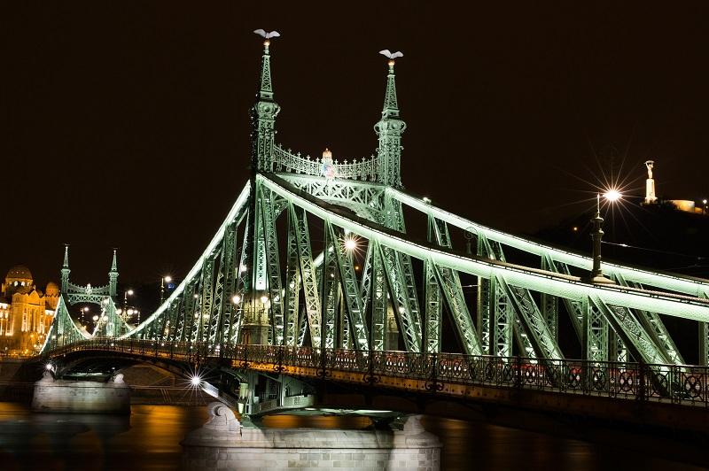 HID vs LED Bridge Lit with HID Lights