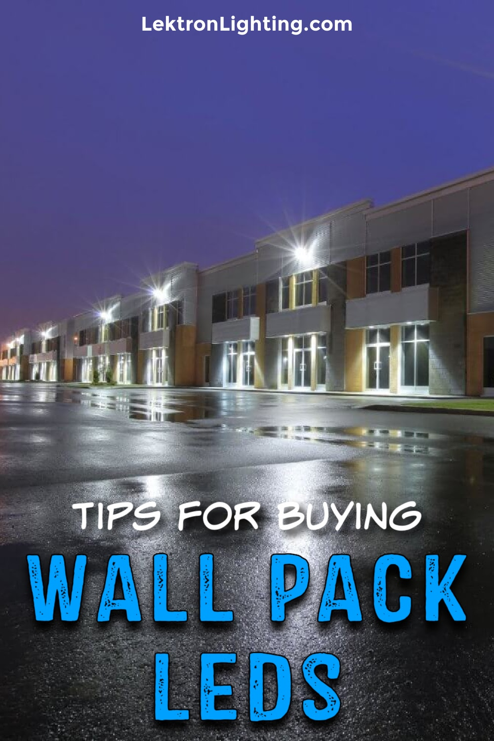 Tips for buying wall pack LED lighting can help save you time, money, and energy when deciding which one is best for you.