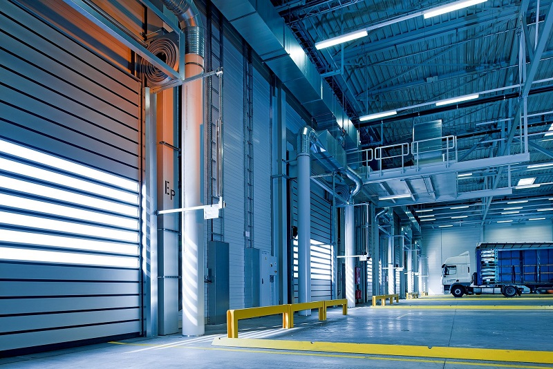 LED High Bay Lighting Calculator Warehouse Door with Lighting Above it