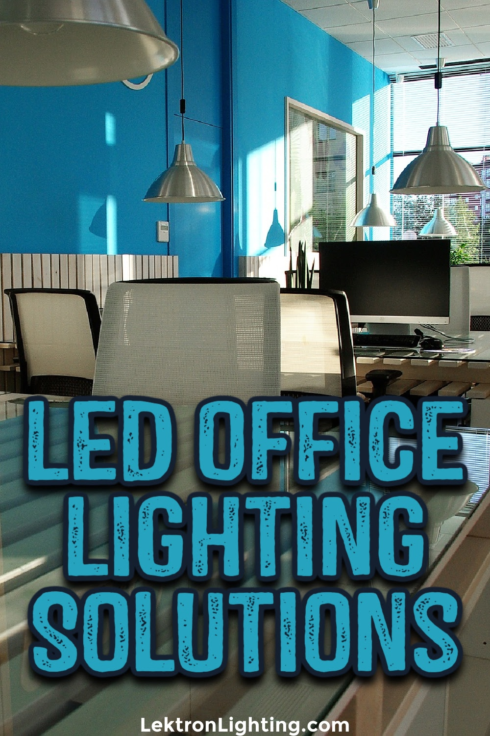 The best LED office lighting solutions can help with commercial lighting design ideas as well as saving your business money.