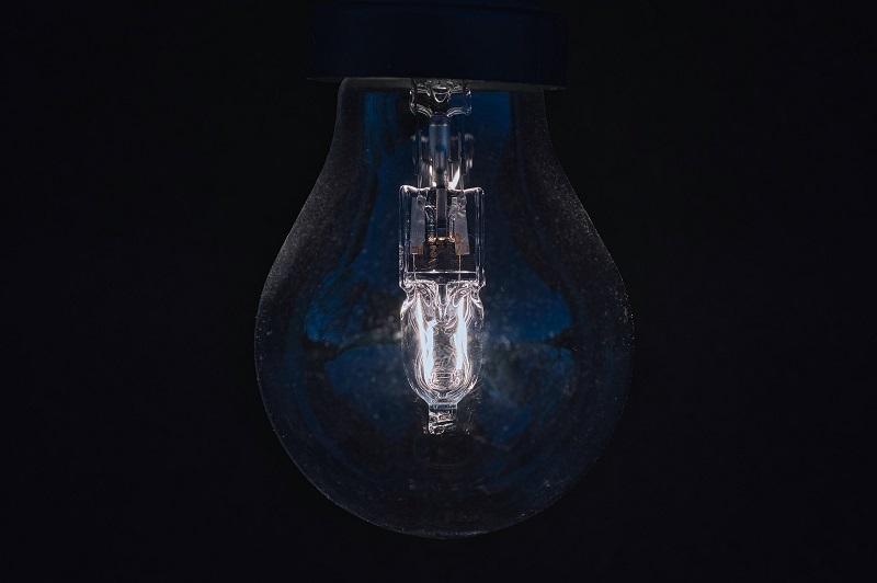 LED vs Halogen Close Up of a Halogen Bulb