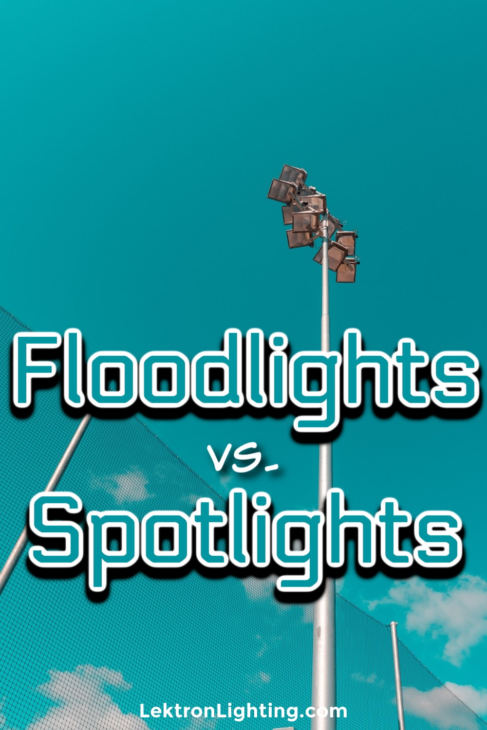 Morris floodlights vs spotlights can teach us a thing or two about lighting up a variety of different spaces from a warehouse to a boutique.