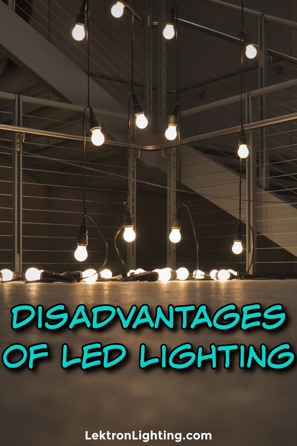 LEDs can't always be the perfect solution, so what are the disadvantages of LEDs at work or at home?