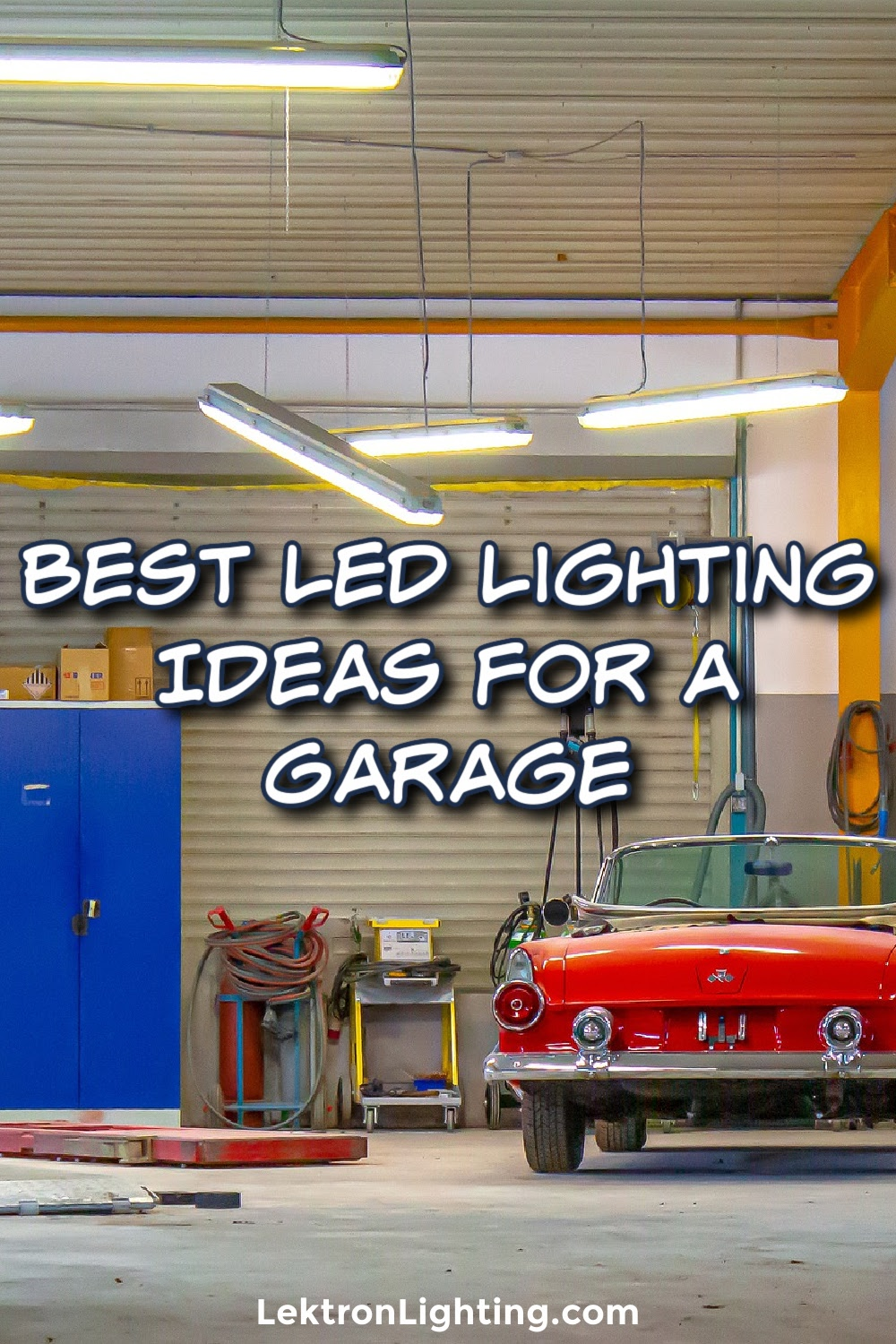 The best LED lighting ideas for a garage can make It easier to work without having an intern hold the light for you.